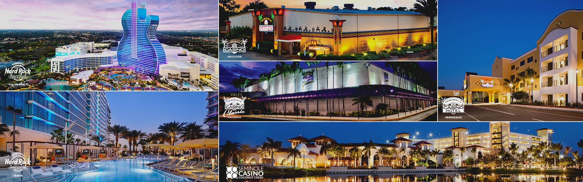 Seminole Casinos.